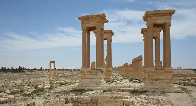 Hiện vật tại chiến trường Syria sẽ được trưng bày tại Moscow - Ảnh 1.