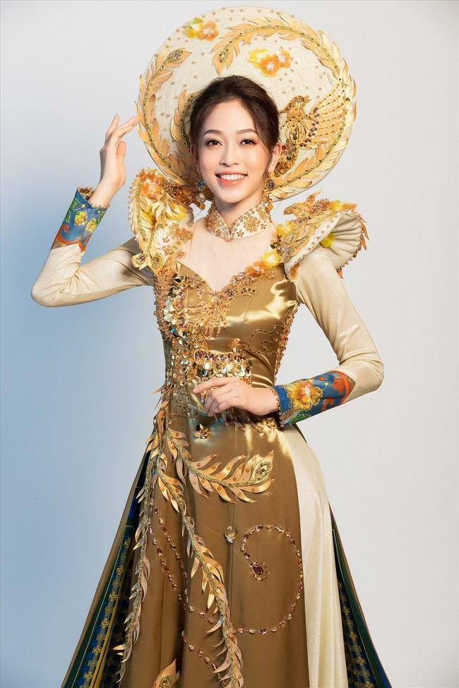 Ngắm trang phục dân tộc đẹp xuất sắc của Á hậu Phương Nga tại Miss Grand International - Ảnh 1.