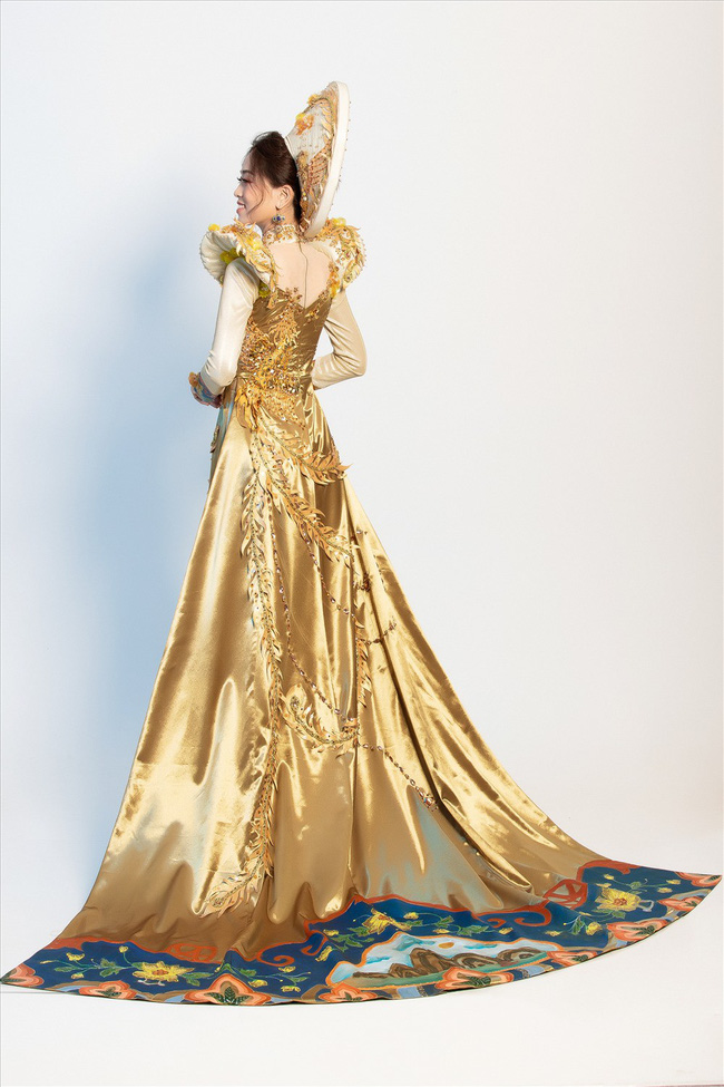 Ngắm trang phục dân tộc đẹp xuất sắc của Á hậu Phương Nga tại Miss Grand International - Ảnh 2.
