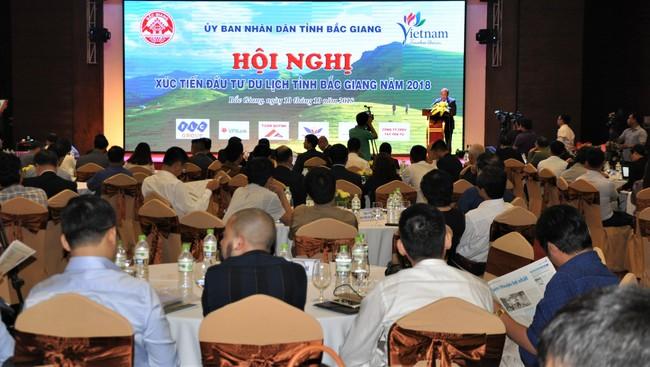 Hội nghị xúc tiến đầu tư du lịch tỉnh Bắc Giang năm 2018 - Ảnh 1.