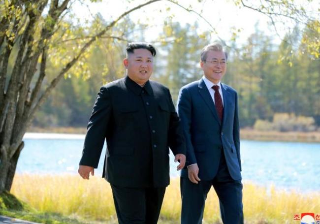 Hàn Quốc không thể nới lỏng trừng phạt Triều Tiên nếu Mỹ chưa cho phép - Ảnh 1.