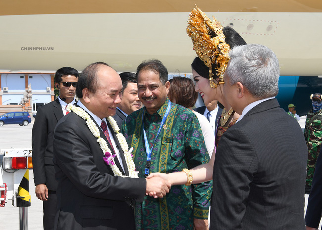 Thủ tướng đến Bali, Indonesia - Ảnh 1.