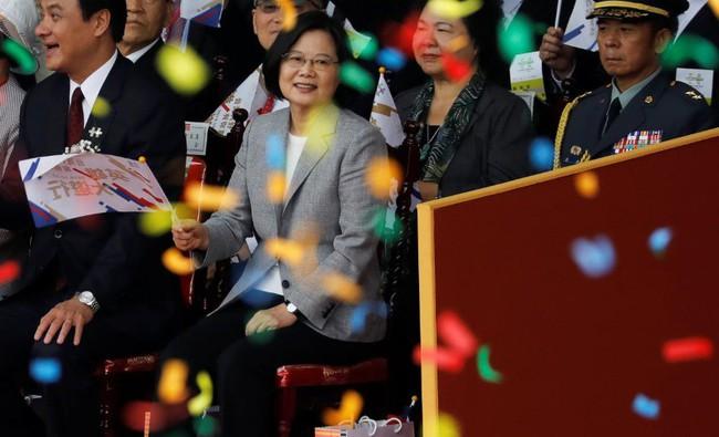 """Bà Thái Anh Văn tuyên bố """"rắn"""" về an ninh Đài Loan - Ảnh 1."""