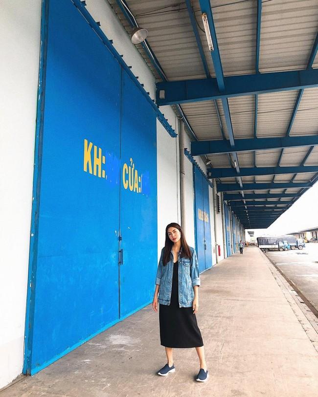 Học Tăng Thanh Hà diện blazer sành điệu xuống phố ngày thu - Ảnh 5.
