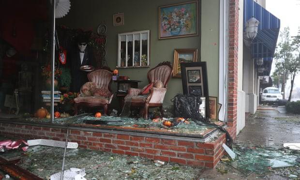 Sự tàn phá ở Panama, Florida - sau siêu bão Michael - Ảnh 9.