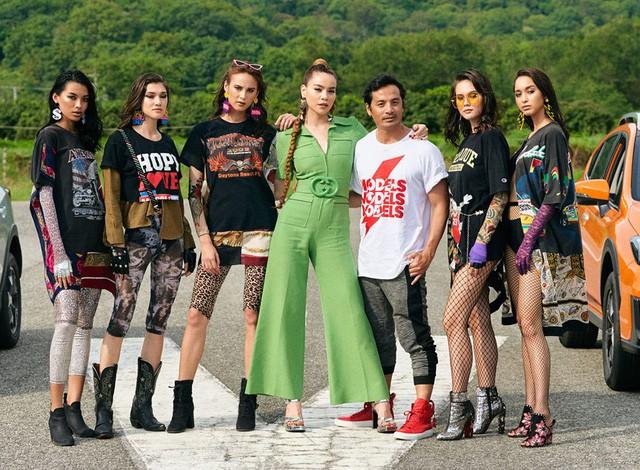 Hồ Ngọc Hà sánh vai các nghệ sĩ châu Á, tỏa sáng tại Asia's Next Top Model - Ảnh 1.