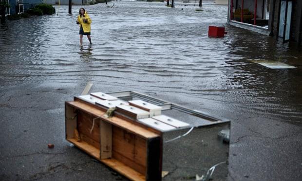 Sự tàn phá ở Panama, Florida - sau siêu bão Michael - Ảnh 3.