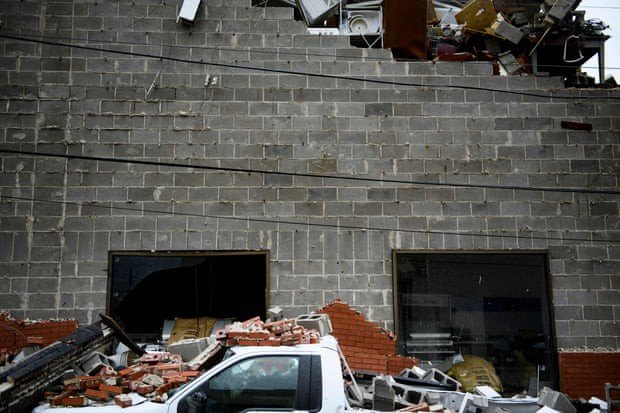 Sự tàn phá ở Panama, Florida - sau siêu bão Michael - Ảnh 4.