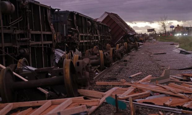 Sự tàn phá ở Panama, Florida - sau siêu bão Michael - Ảnh 5.