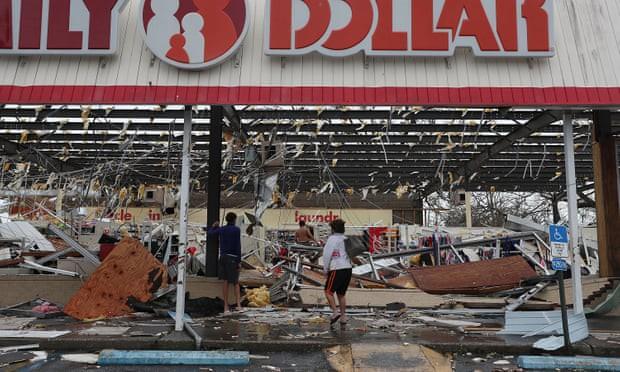 Sự tàn phá ở Panama, Florida - sau siêu bão Michael - Ảnh 8.