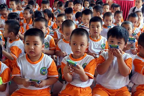 Phó Thủ tướng Vũ Đức Đam có ý kiến chỉ đạo về Chương trình sữa học đường - Ảnh 1.