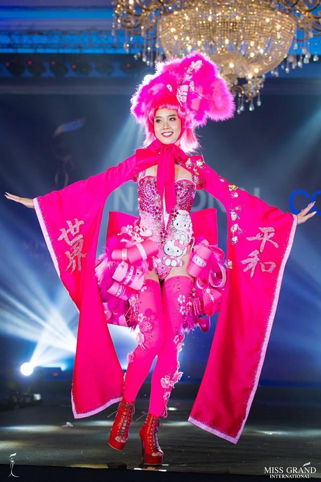 Ngắm những trang phục dân tộc ấn tượng của các hoa hậu thế giới tại Miss Grand International 2018 - Ảnh 6.