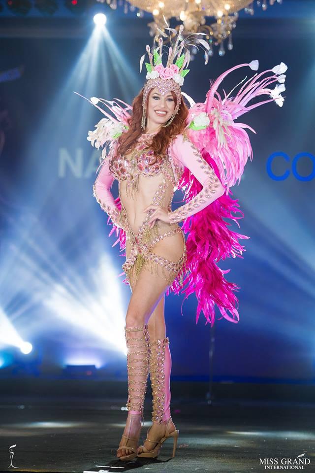 Ngắm những trang phục dân tộc ấn tượng của các hoa hậu thế giới tại Miss Grand International 2018 - Ảnh 5.