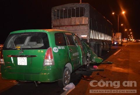 Ba người tử vong trong vụ tai nạn trên cầu Cần Thơ - Ảnh 1.