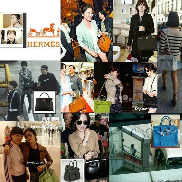 Ngoài kiểu tóc 10 năm không đổi, chiếc túi này của Song Hye Kyo còn khiến dân tình réo tên Hậu Duệ Mặt Trời - Ảnh 11.