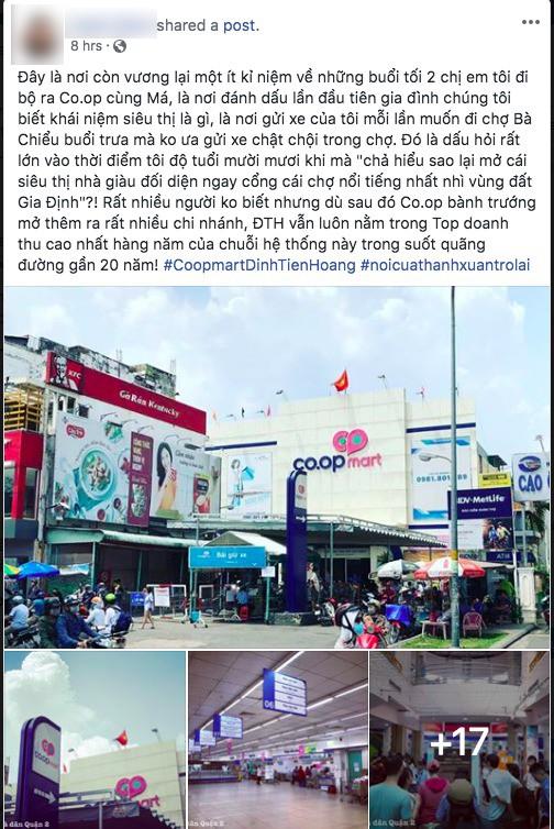 Co.op Mart Đinh Tiên Hoàng ngưng hoạt động sau gần 20 năm, người Sài Gòn tiếc nuối đến nhìn lại lần cuối - Ảnh 3.