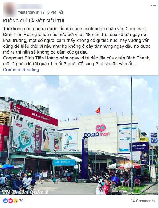 Co.op Mart Đinh Tiên Hoàng ngưng hoạt động sau gần 20 năm, người Sài Gòn tiếc nuối đến nhìn lại lần cuối - Ảnh 4.