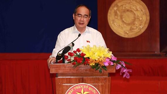 Bí thư Nguyễn Thiện Nhân: Thành phố sẽ vận dụng những chính sách có lợi nhất cho người dân Thủ Thiêm - Ảnh 1.