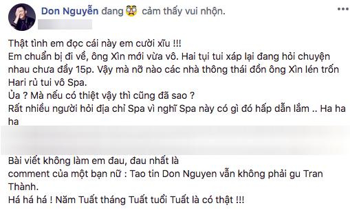 Trấn Thành và Don Nguyễn rò rì ảnh nhạy cảm? - Ảnh 2.