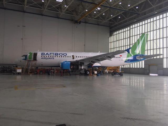 Hé lộ hình ảnh siêu hot của máy bay Bamboo Airways - Ảnh 4.