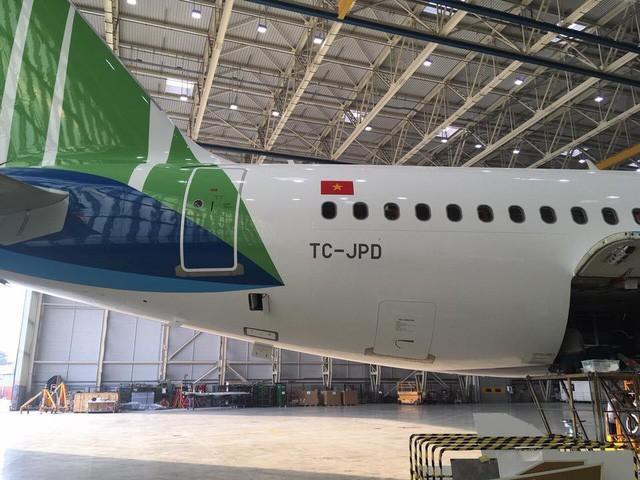 Hé lộ hình ảnh siêu hot của máy bay Bamboo Airways - Ảnh 3.