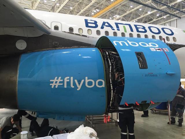 Hé lộ hình ảnh siêu hot của máy bay Bamboo Airways - Ảnh 5.