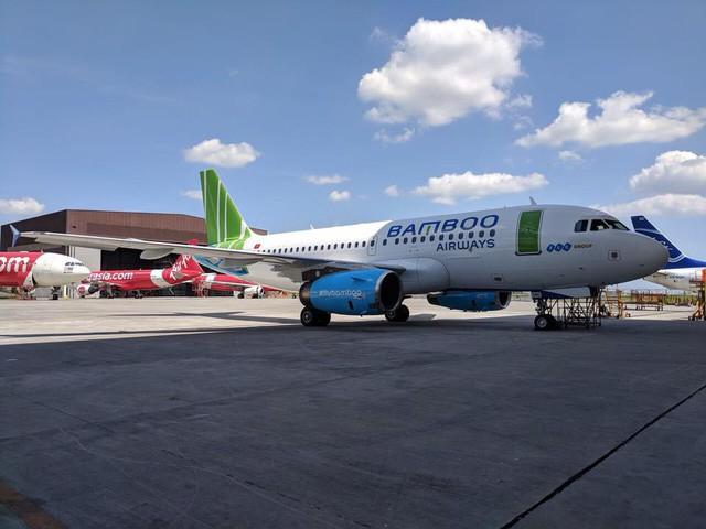 Hé lộ hình ảnh siêu hot của máy bay Bamboo Airways - Ảnh 1.