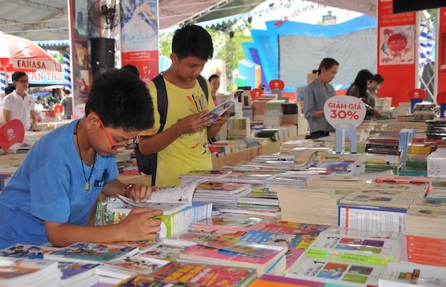 Nhiều chương trình tôn vinh văn hóa đọc tại Hội Sách Cần Thơ lần thứ III