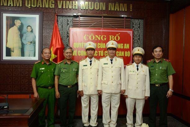 Công an thành phố Đà Nẵng điều động, bổ nhiệm cán bộ - Ảnh 1.
