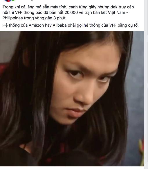Cư dân mạng dậy sóng, rất khó mua vé online để xem trận Việt Nam vs Philippines - Ảnh 5.