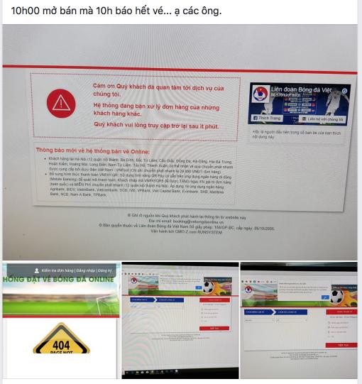 Cư dân mạng dậy sóng, rất khó mua vé online để xem trận Việt Nam vs Philippines - Ảnh 8.