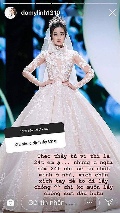 Hoa hậu Đỗ Mỹ Linh: 24 tuổi sẽ nhốt mình ở nhà để khỏi lấy chồng - Ảnh 1.