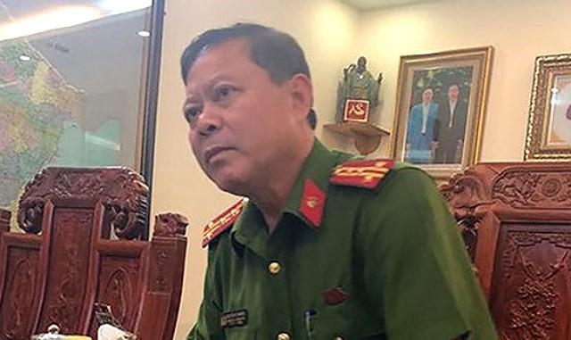 Tạm đình chỉ công tác đối với Trưởng Công an TP Thanh Hóa vì ăn tiền chạy án - Ảnh 1.