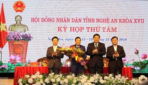 Nghệ An có tân Phó Chủ tịch UBND tỉnh - Ảnh 1.