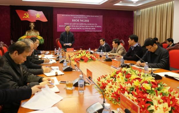 Bộ trưởng Tô Lâm: Hòa Bình cần nâng cao hiệu quả công tác phát hiện và xử lý tham nhũng - Ảnh 1.