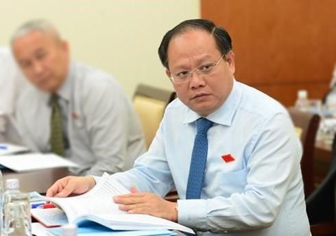 Sau khi bị đề nghị xem xét thi hành kỷ luật, Phó Bí thư Thành ủy TP HCM Tất Thành Cang xin nghỉ phép 18 ngày - Ảnh 1.