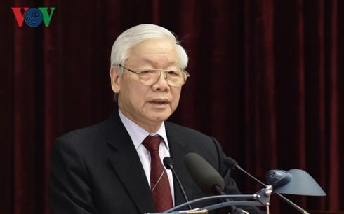 Tổng Bí thư, Chủ tịch nước: Thống nhất giới thiệu 200 đồng chí để Trung ương cho ý kiến - Ảnh 1.