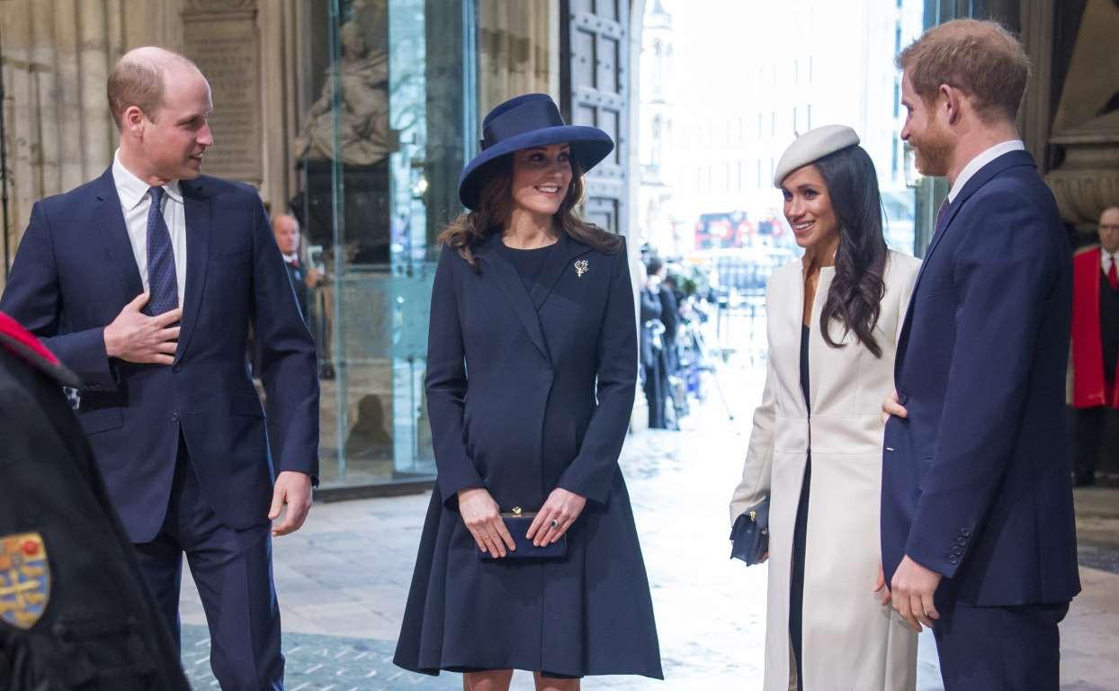 Những hình ảnh hiếm hoi cùng xuất hiện của 2 cặp đôi Hoàng gia William-Kate và Harry-Meghan - Ảnh 5.