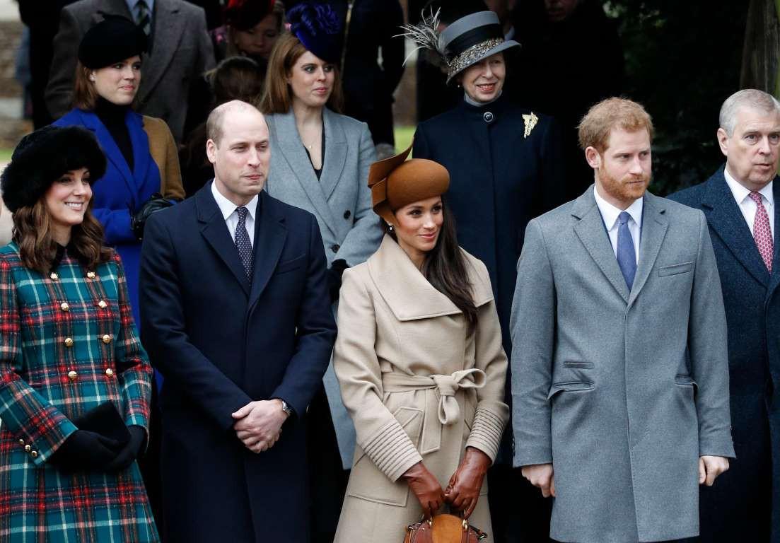 Những hình ảnh hiếm hoi cùng xuất hiện của 2 cặp đôi Hoàng gia William-Kate và Harry-Meghan - Ảnh 7.