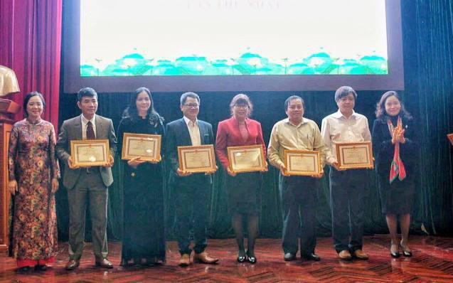 Lần đầu tiên Bộ VHTTDL trao Giải phát triển văn hóa đọc