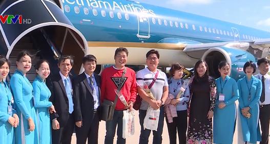 Khánh Hòa chào đón vị khách thứ 6 triệu của năm 2018 - Ảnh 1.