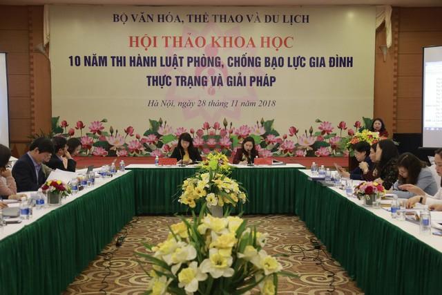 Tổ chức Hội nghị Tổng kết 10 năm thi hành Luật phòng, chống bạo lực gia đình - Ảnh 1.