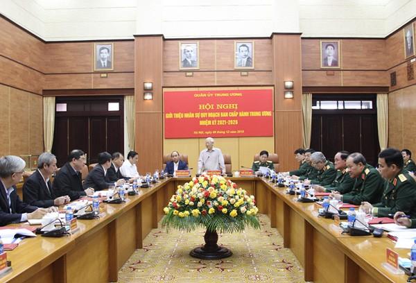 Giới thiệu nhân sự Quân đội quy hoạch Ban Chấp hành Trung ương - Ảnh 1.