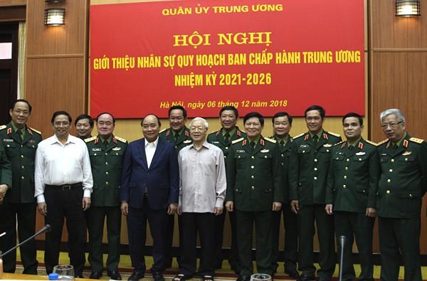 Giới thiệu nhân sự Quân đội quy hoạch Ban Chấp hành Trung ương - Ảnh 3.