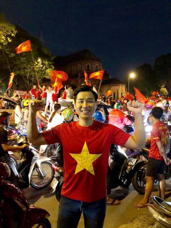 Sao Việt vui với chiến thắng của đội tuyển bóng đá Việt Nam vào chung kết AFF Cup - Ảnh 5.
