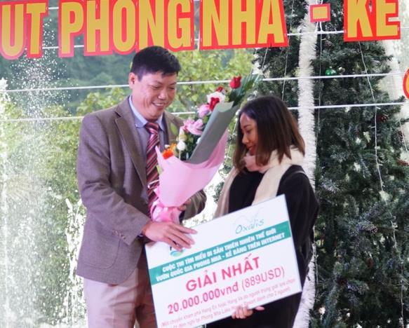 Giải đặc biệt chuyến thám hiểm hang Sơn Đoòng hấp dẫn ở Quảng Bình là ai? - Ảnh 1.
