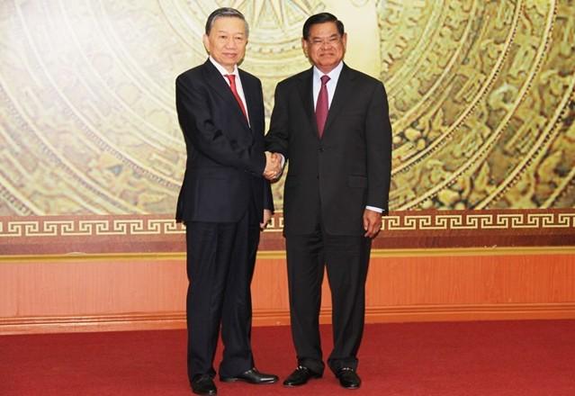 Việt Nam – Campuchia: Ký kết Kế hoạch hợp tác an ninh trong năm 2019 - Ảnh 1.