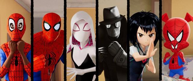 Sau khi giành giải Quả cầu vàng, Người nhện: Vũ trụ mới…trở lại vị trí thứ ba trên bảng xếp hạng doanh thu - Ảnh 3.