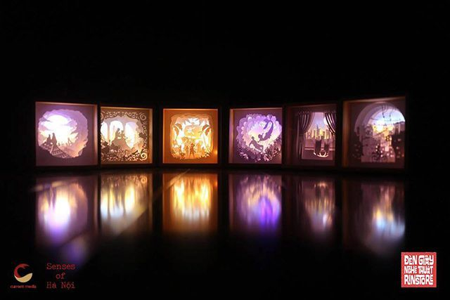 """Triển lãm """"Hà Nội trong những giác quan"""": Câu chuyện được kể trong chiếc đèn giấy - Ảnh 1."""