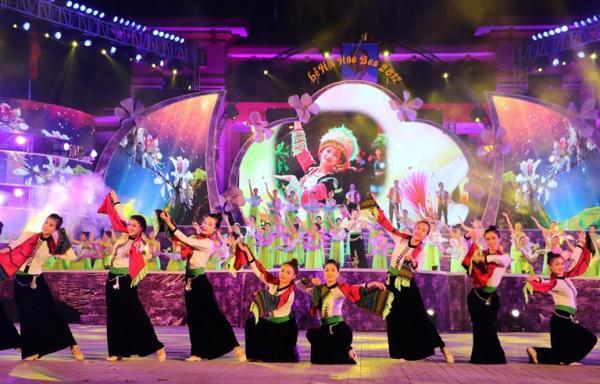 Điện Biên: Nhiều nét mới tại Lễ hội Hoa Ban 2019 - Ảnh 1.